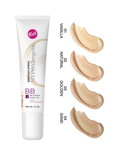 Bell HYPOAllergenic BB Cream Make-Up