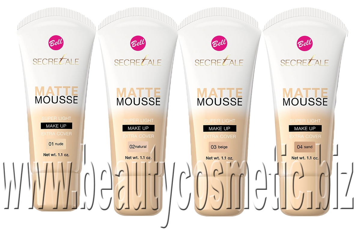 Bell Secretale Matte Mousse Make-Up