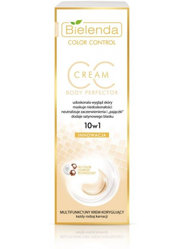 Bielenda CC Cream 10 in 1 to conceal body skin imperfections