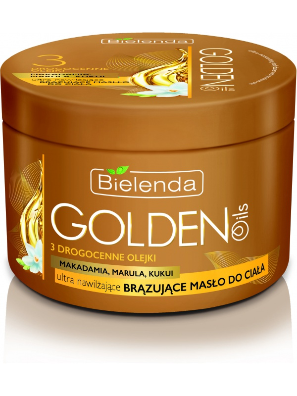 Bielenda Golden Oils bronzing body oil