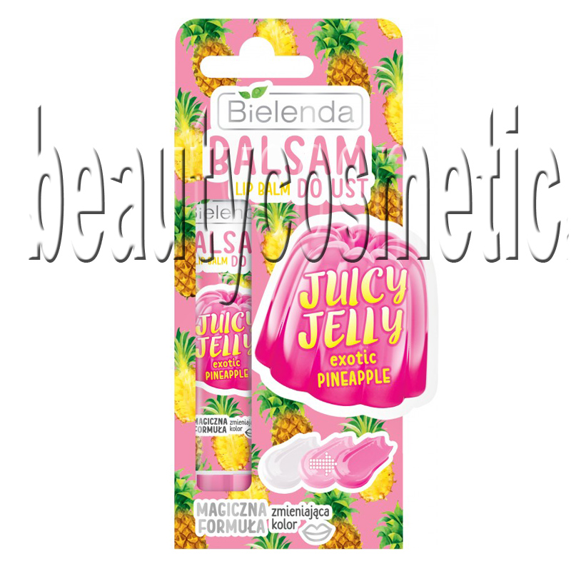Bielenda Juicy Jelly exotic pineapple балсам за устни