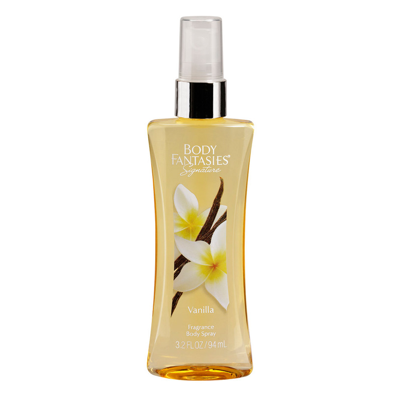 Body Fantasies Vanilla perfume body spray