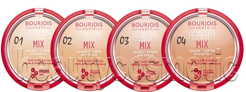 Bourjois Healthy Mix Матираща пудра