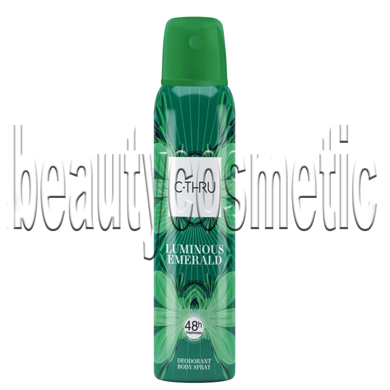 C-THRU Luminous Emerald deo spray