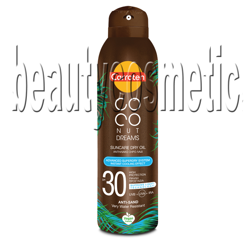 Carroten Coconut Dreams сухо олио за тен SPF 30