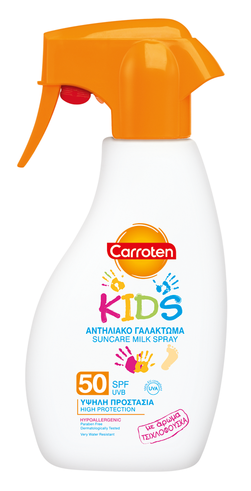 Carroten suncare milk spray for kids SPF 30