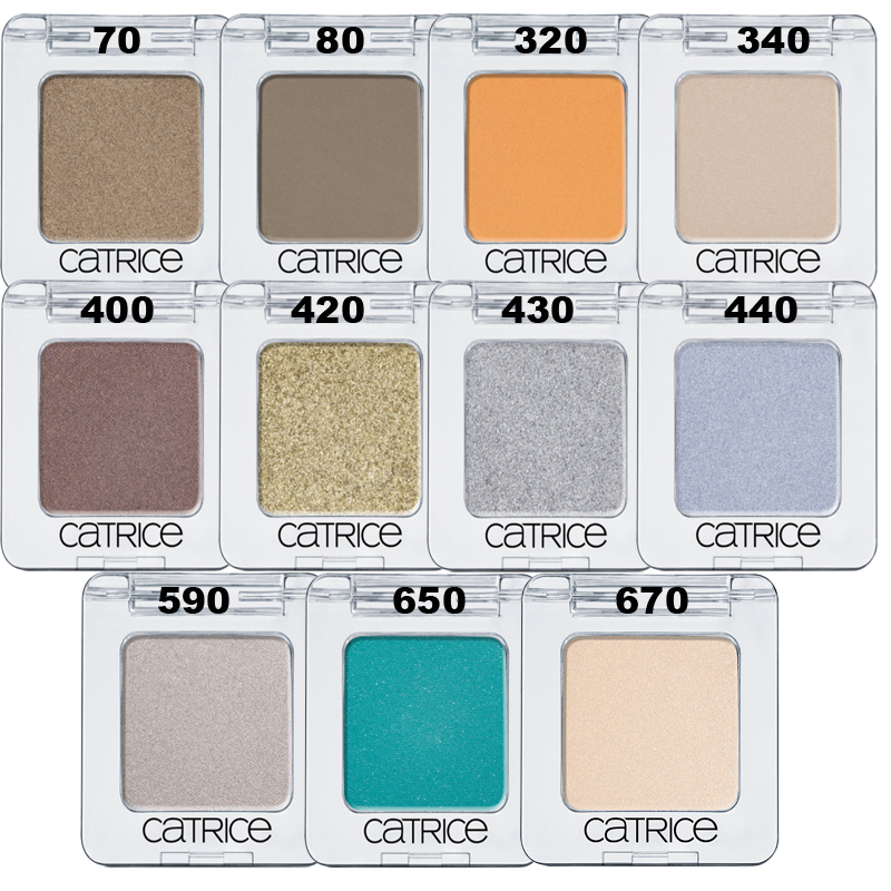 Catrice Absolute Eye Colour сенки моно sale 2016