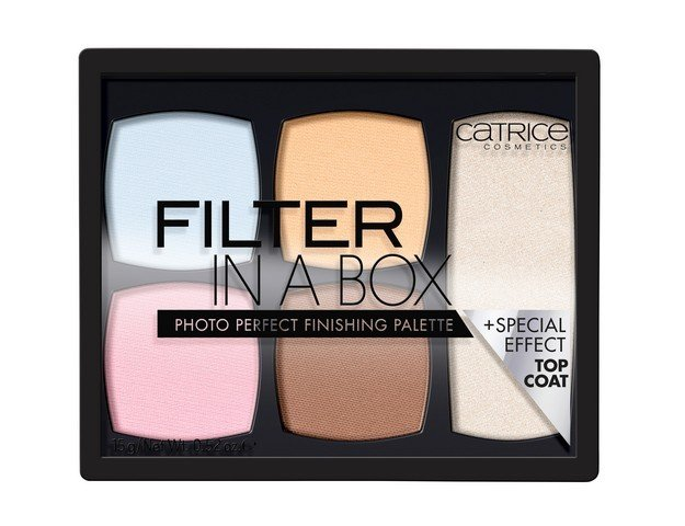 Catrice Big palettes Filter In A Box палитра пудри