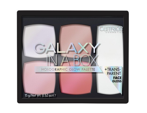 Catrice Big palettes Galaxy In A Box палитра хайлайтър
