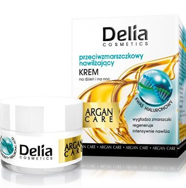Delia Argan Care Крем за лице с Хиалуронова киселина