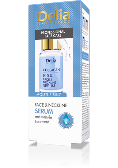 Delia Collagen Serum for Face and Decollete