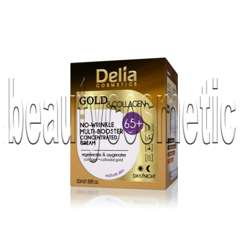 Delia Gold & Collagen крем против бръчки 65+
