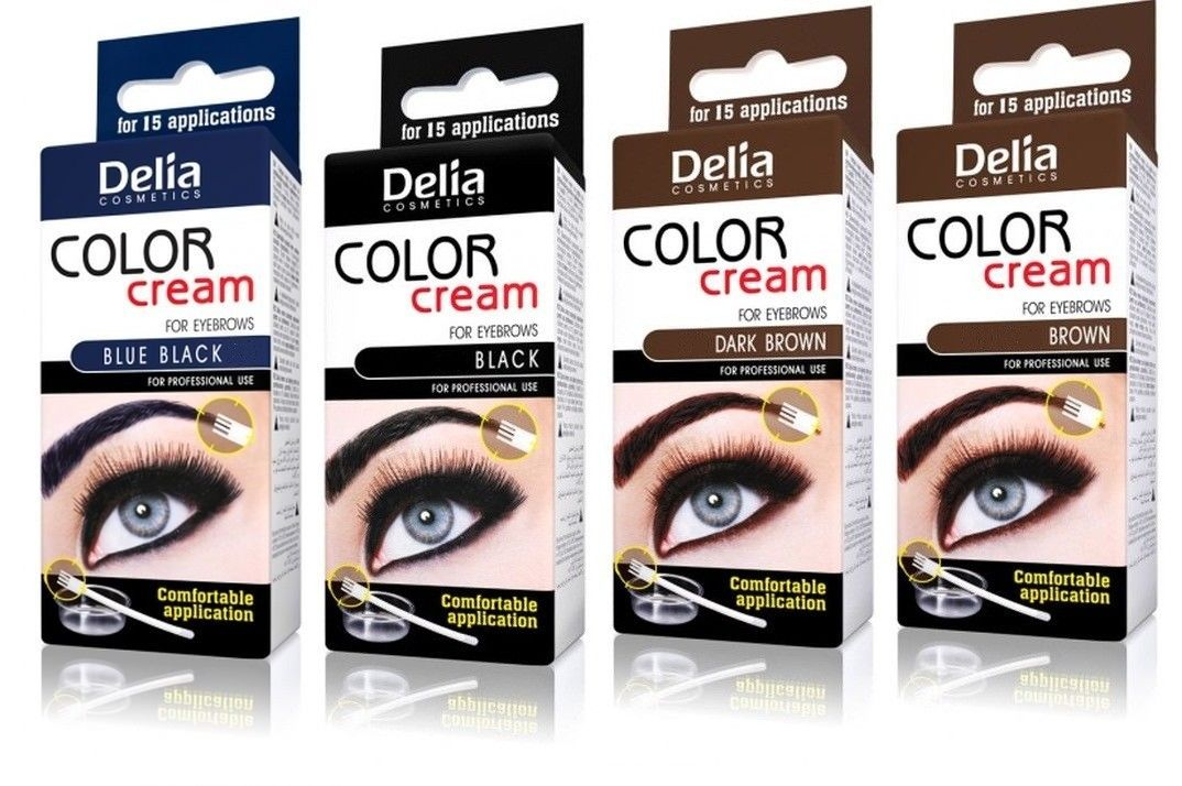 Delia Henna On Eyebrows Eyelashes Beautycosmetic Online Store