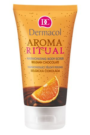 Dermacol Aroma Ritual Белгийски шоколад скраб за тяло