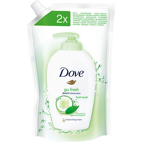 Dove Go fresh - Fresh touch течен сапун пълнител 500ml