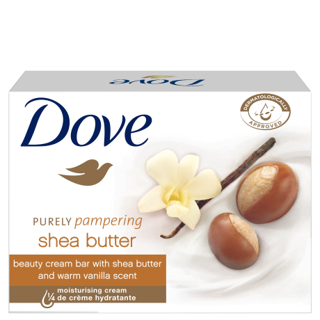 Dove Purely Pampering Shea Butter крем сапун