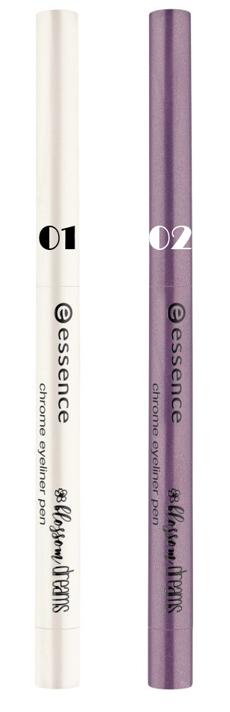 Essence Blossom Dreams Chrome Eyeliner Pen