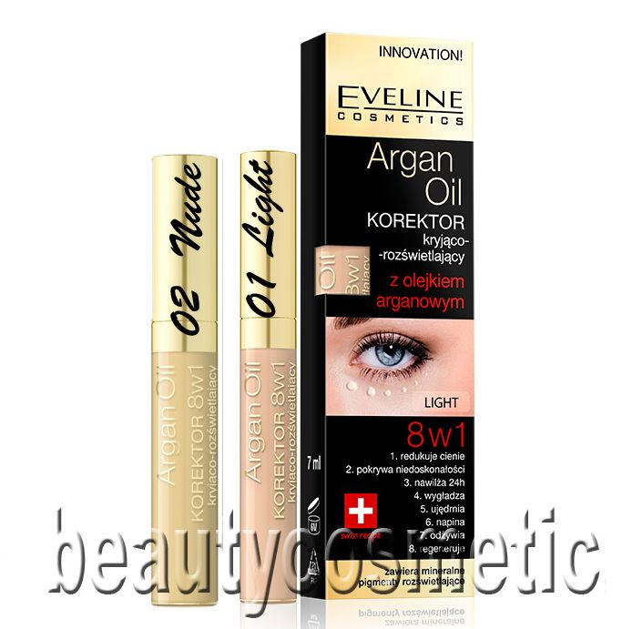 Eveline Argan oil concealer 8 in 1