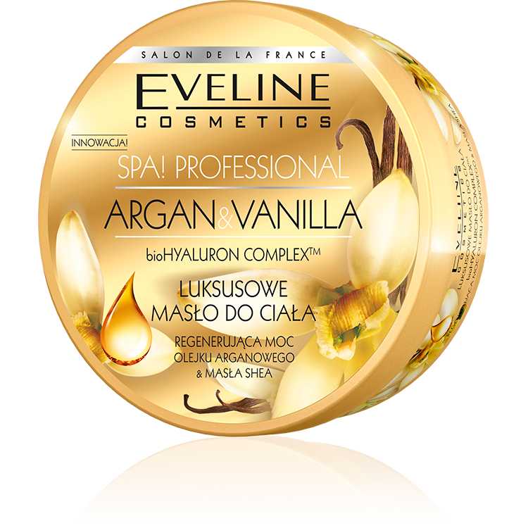 Eveline SPA Argan & Vanilla масло за тяло