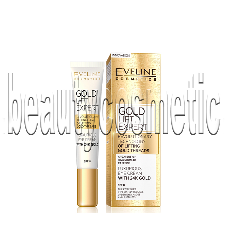 Eveline Gold Lift Expert Околоочен крем