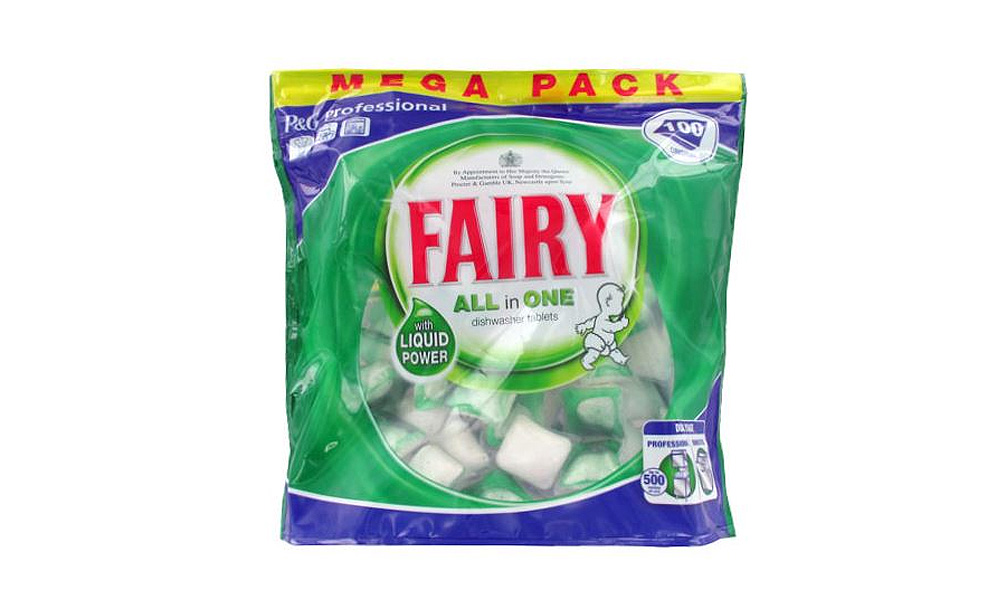 Fairy dishwasher tablets all in one 100 pcs