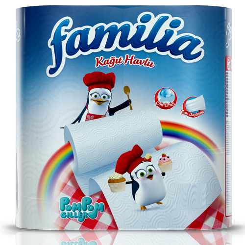 Familia kitchen towel 4 rolls