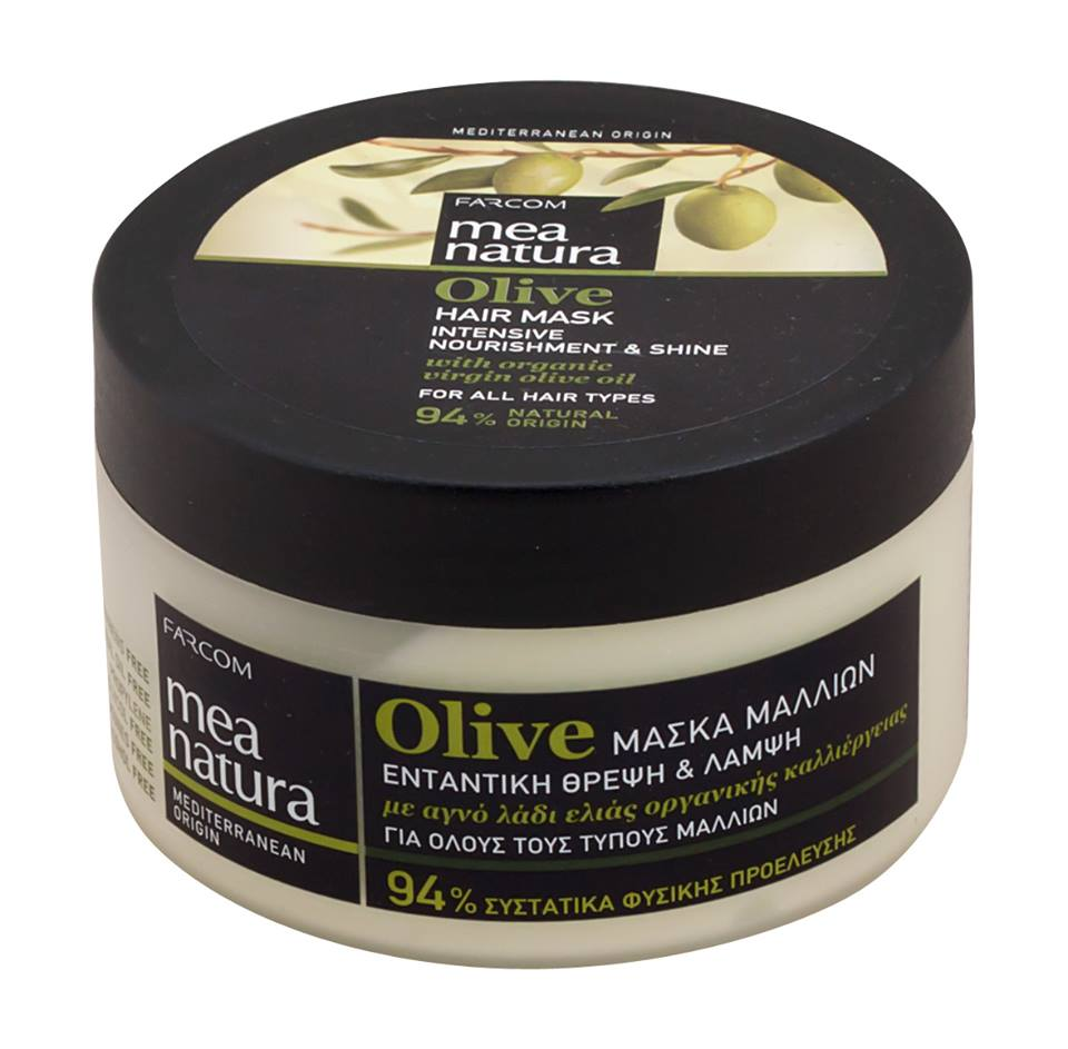 Farcom Mea Natura Olive Hair Mask Beautycosmetic Online Store