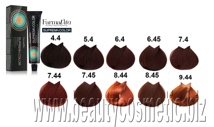 FarmaVita Suprema Color Cooper hair color
