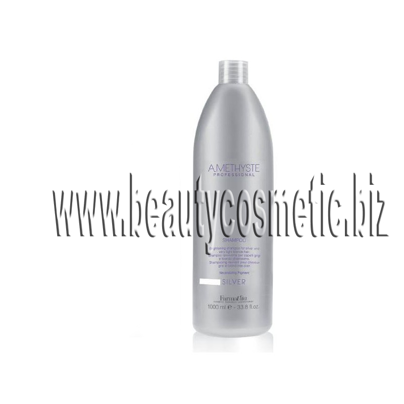 FarmaVita Amethyste Silver yellow anti shampoo 1000ml