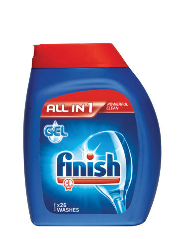 Finish All in One dishwasher gel 650ml