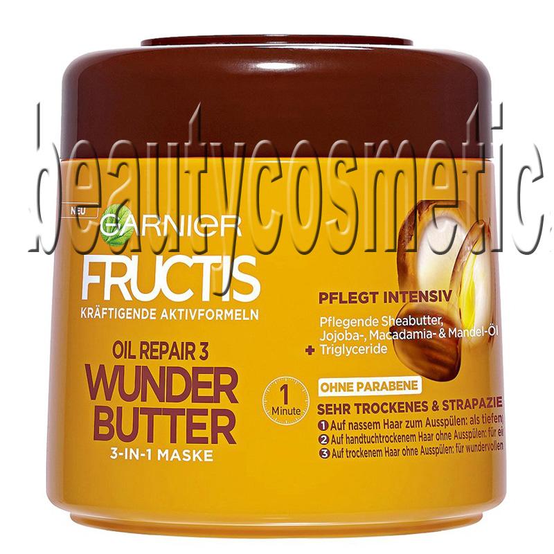 Garnier Fructis Oil Repair 3 Wonder Butter 3 In 1 Mask