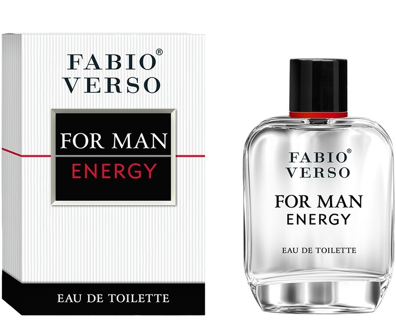 Fabio Verso For Man Energy EDT 100ml