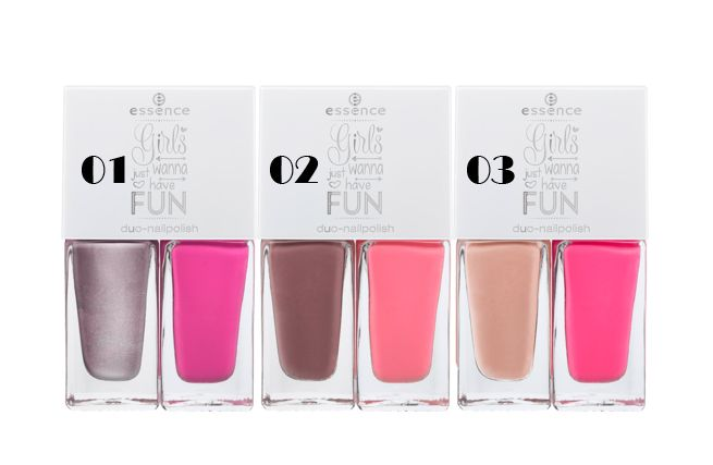 Essence girls just wanna have fun nail polish