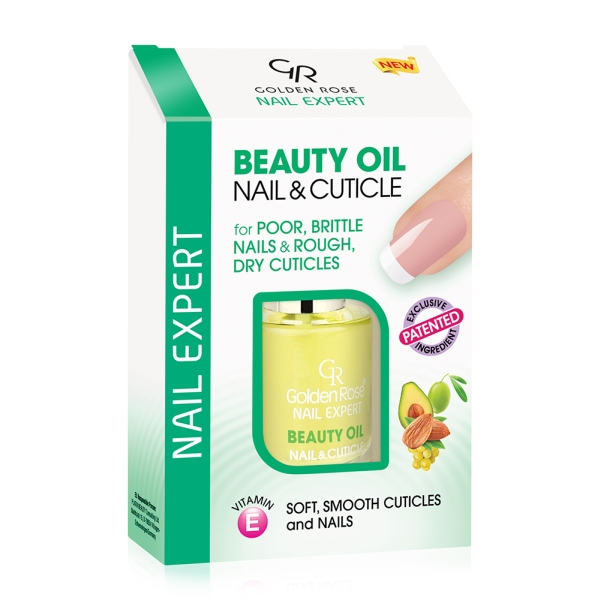 Golden Rose  Nail Expert Beauty Oil за нокти и кожички