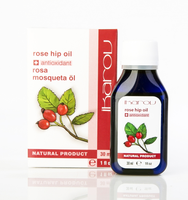 Icarov oil of rosehip
