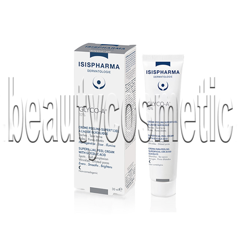 Glyco A cream with 10% glycolic acid, anti aging skin, wrinkles