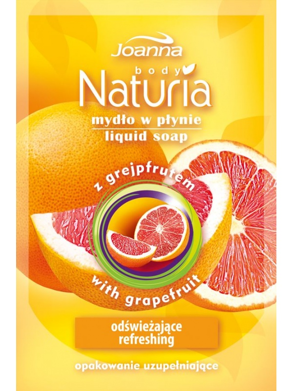 Joanna Naturia liquid soap refill Grapefruit