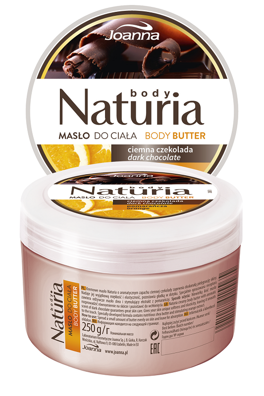 Naturia Body butter Chocolate & Oranges