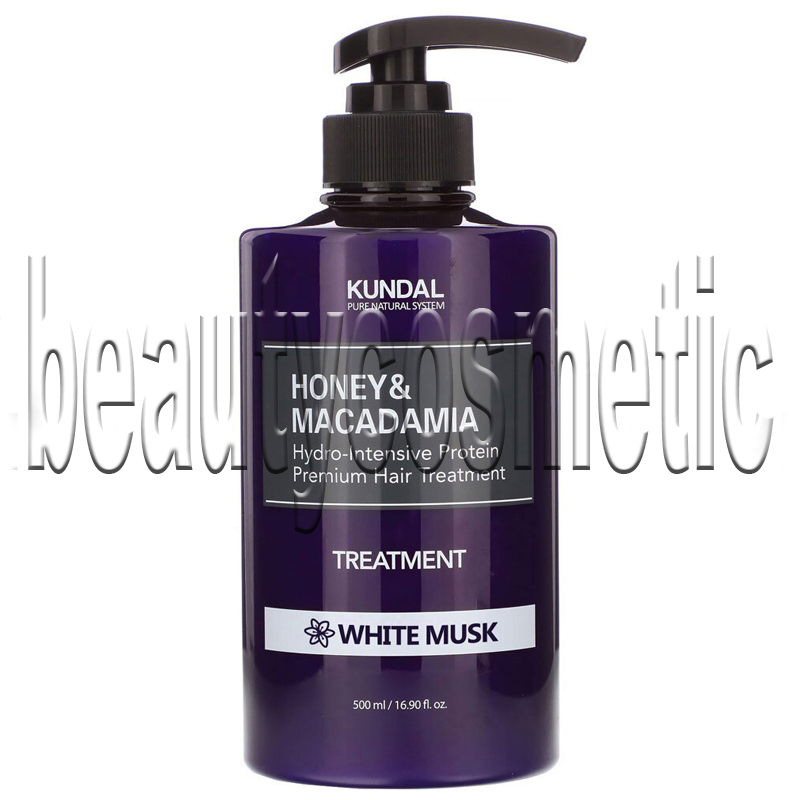 Kundal Honey & Macadamia White Musk балсам