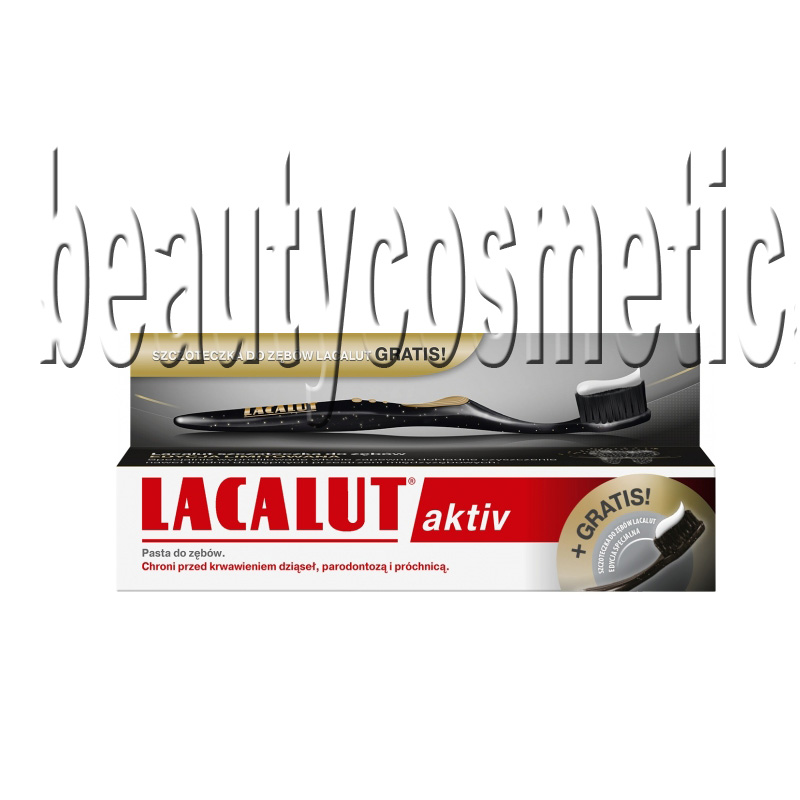 Lacalut Active toothpaste + toothbrush
