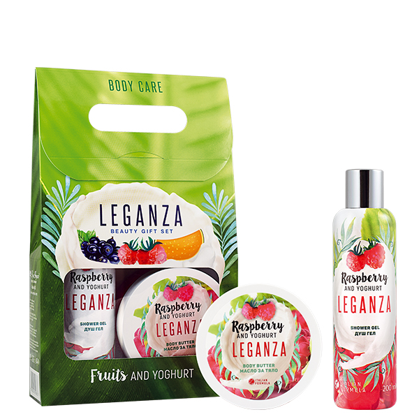 Leganza friuts & yoghurt Raspberry and Yogurt Kit