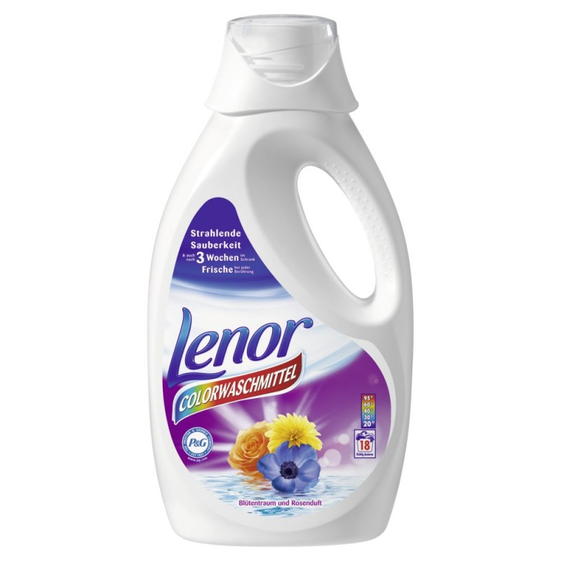 Lenor Colorwaschmittel универсален течен прах 1260ml