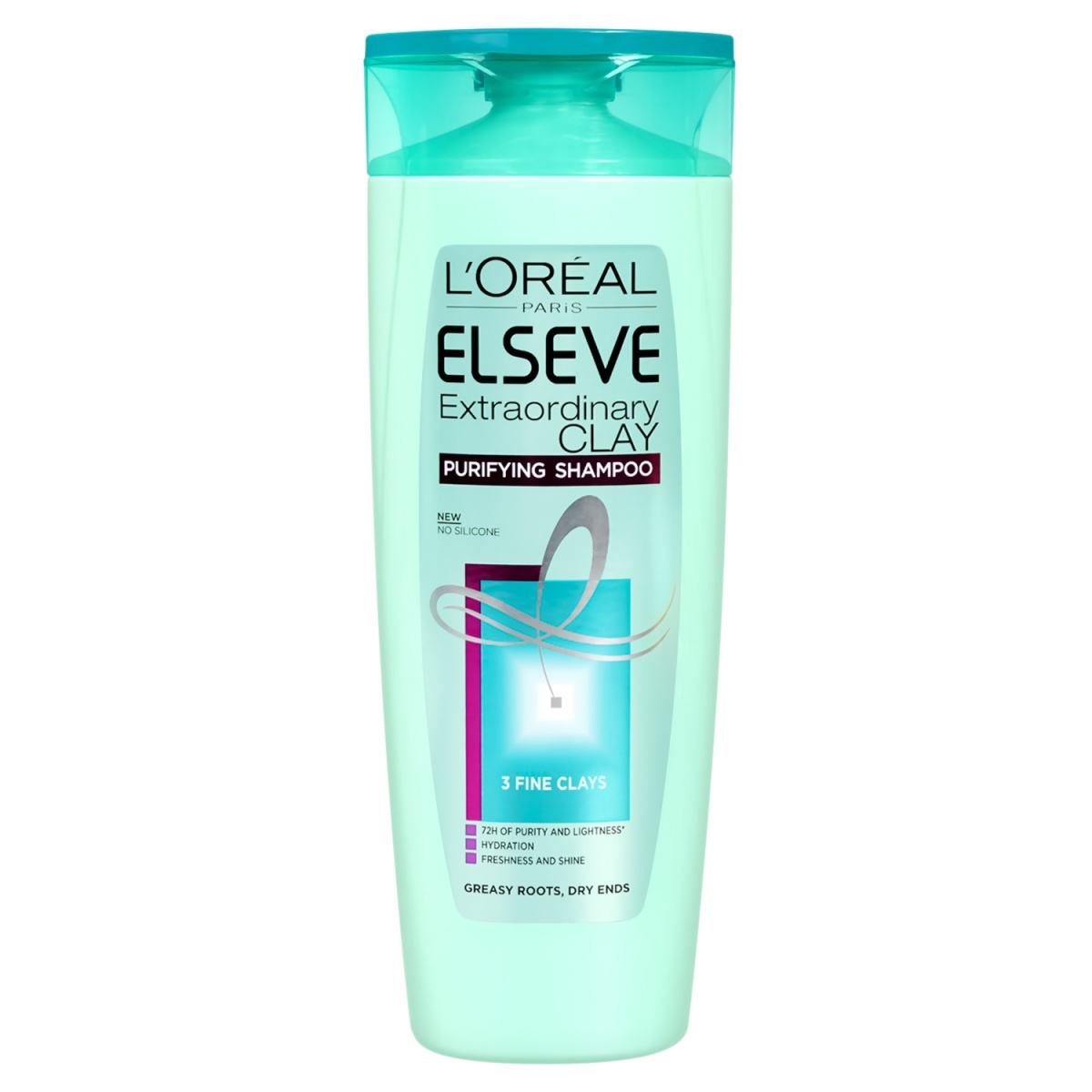 Loreal Elseve Extraordinary Clay шампоан 400ml