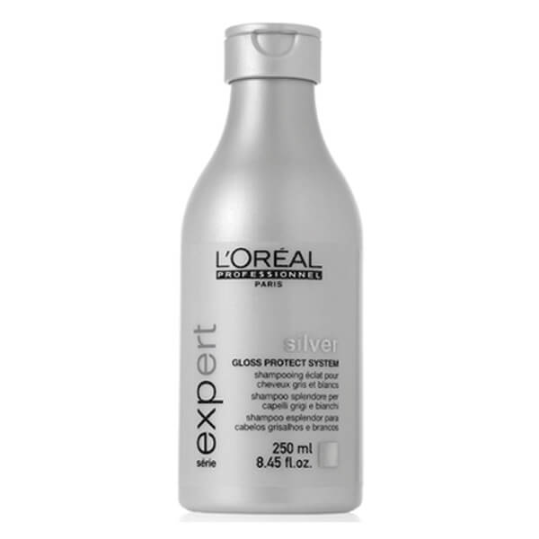 L'Oreal Professionnel Silver Shampoo toning and sheen of white and bleached hair