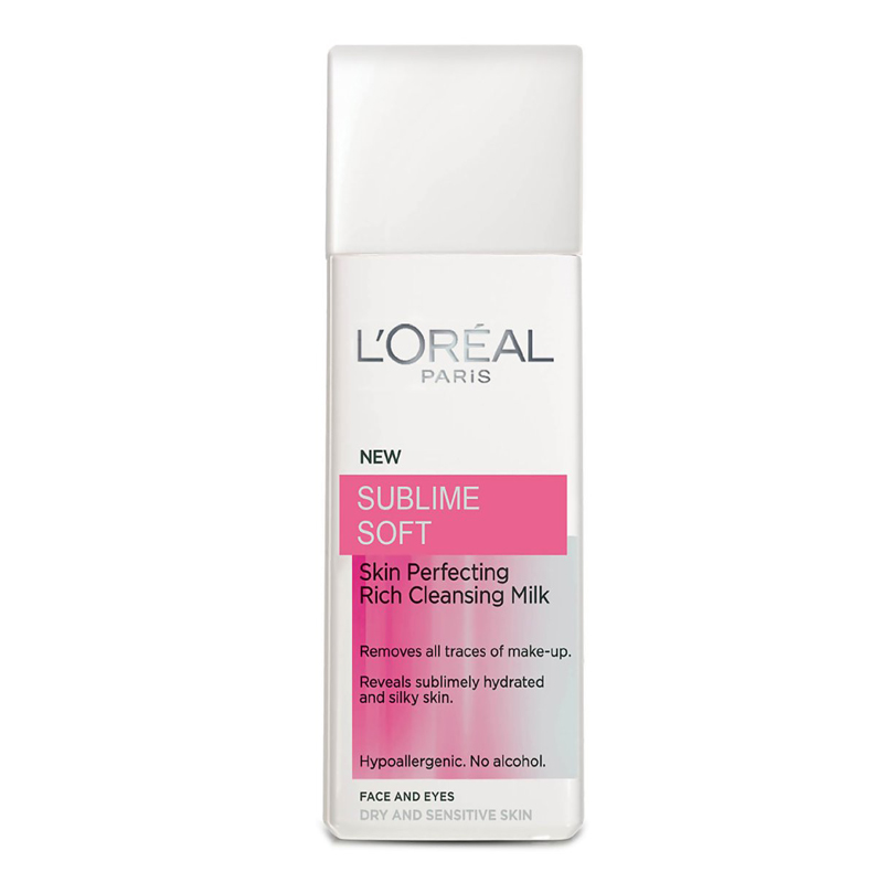 L`Oreal Sublime Soft Rich Cleansing Milk