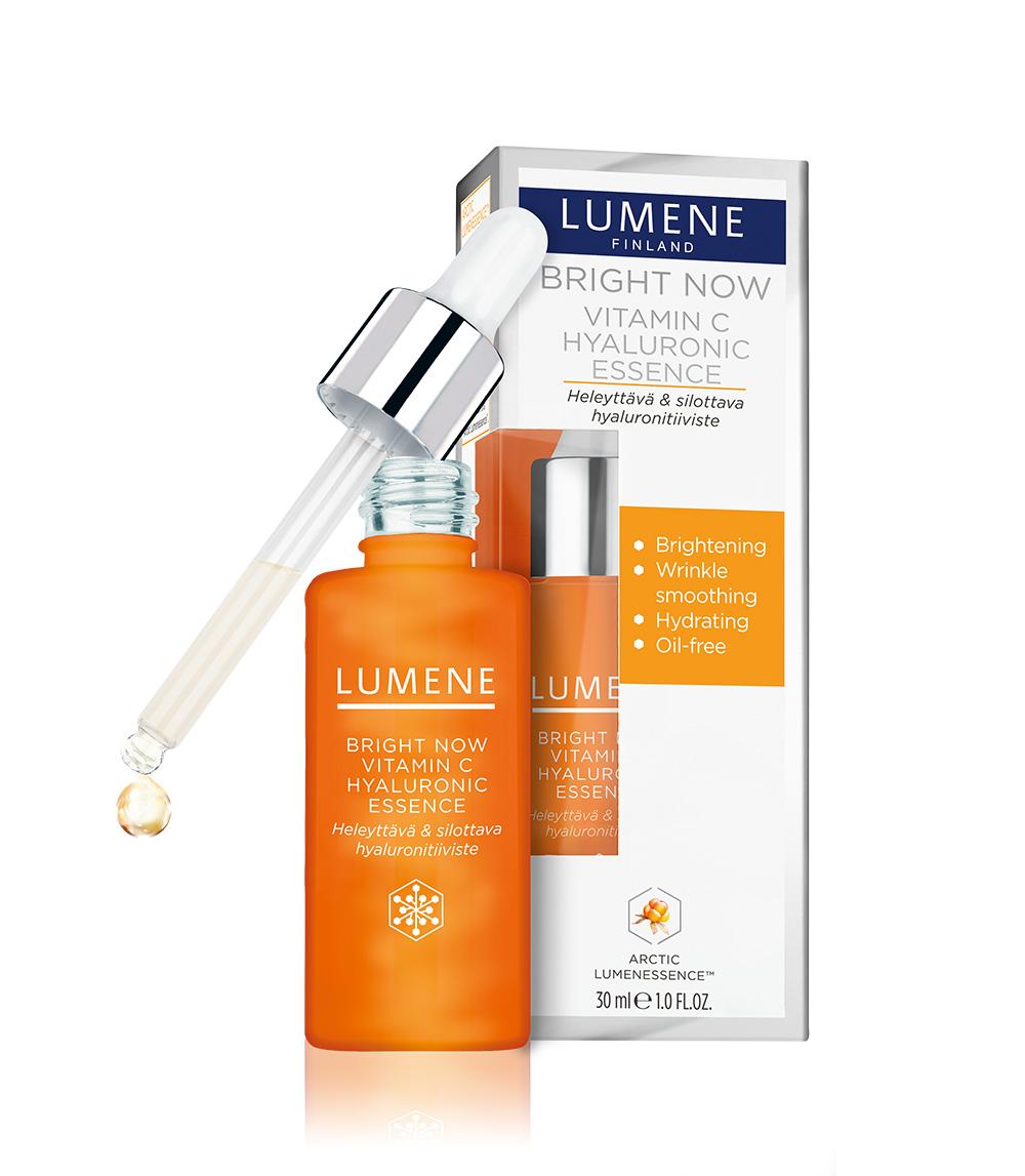 Lumene Bright Now Vitamin C Hyaluronic Essence ...