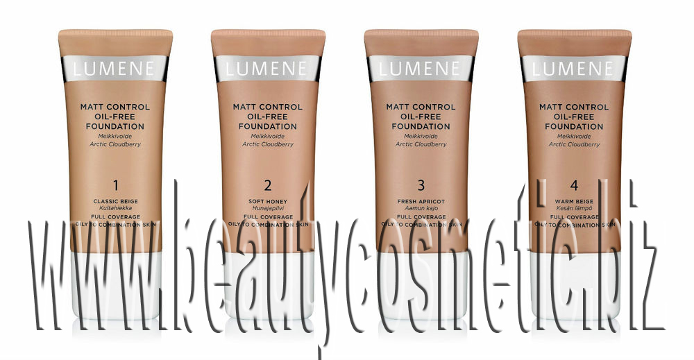 Lumene Matt Control Oil-free Foundation