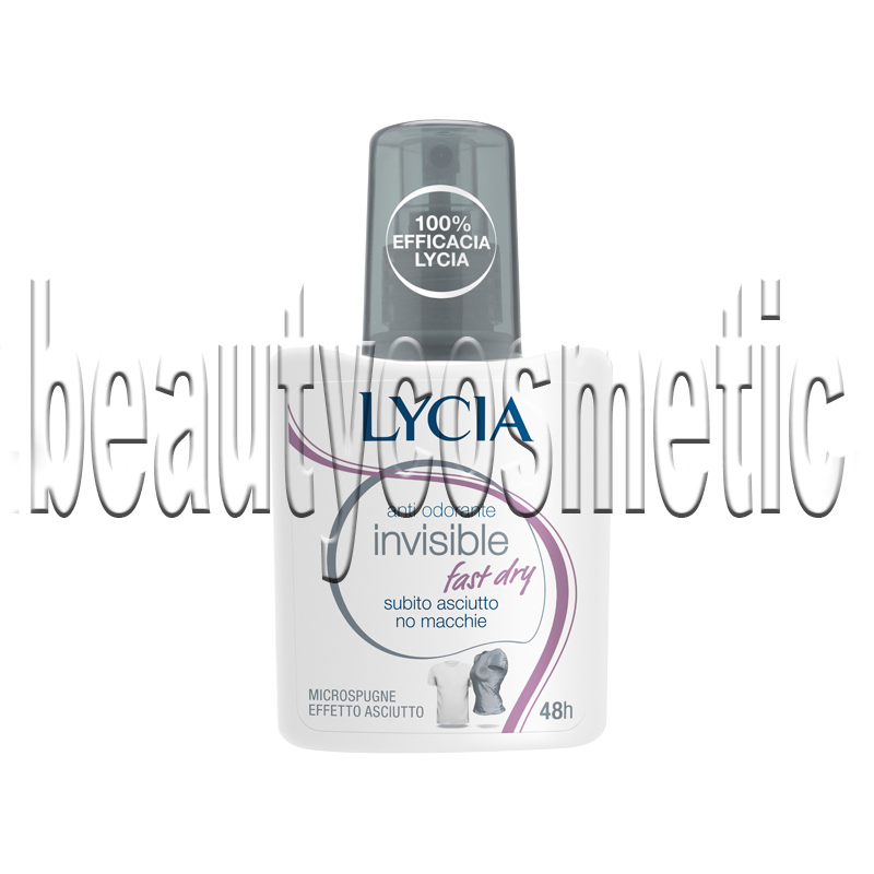 Lycia Invisible Fast Dry део спрей
