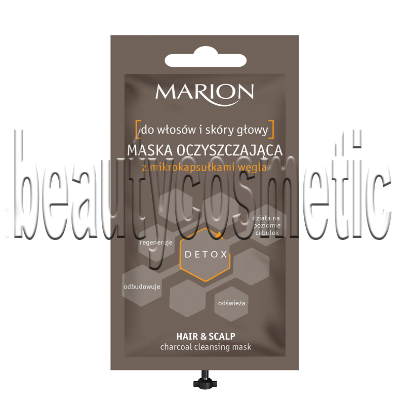 Marion Detox Cleansing mask for hair and scalp