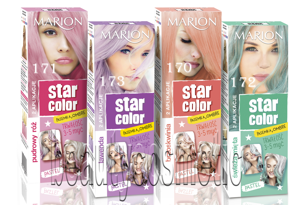 Marion Star Color Pastel тонер за коса